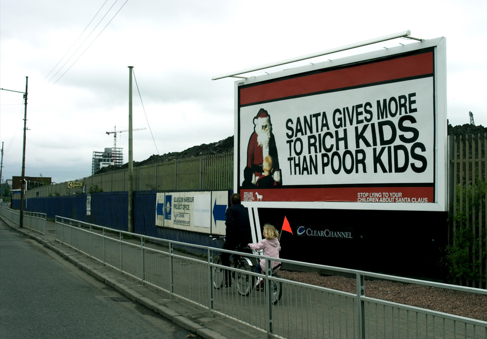 Santa Gives Moreto Rich Kids Than Poor Kids