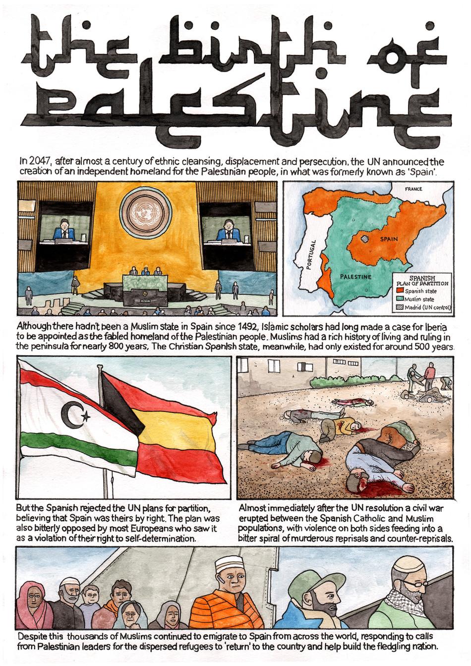 THE BIRTH OF PALESTINE