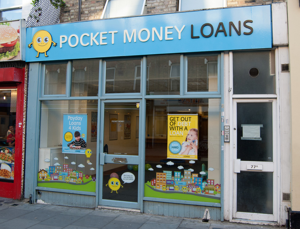 Pocket Money Loans by Darren Cullen