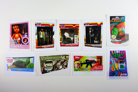 Toy Postcards