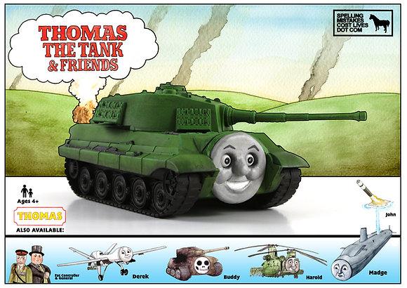 Thomas the Tank - Poster