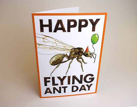 Happy Flying Ant Day Card