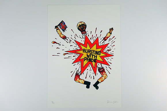 Bursting With Pride - Limited edition giclee print
