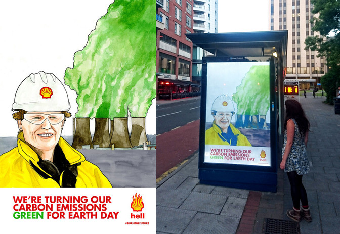 Shell bus stop and poster.jpg