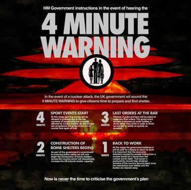 4 Minute Warning (2020) - Darren Cullen