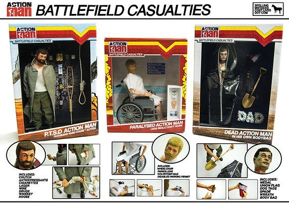 Action Man: Battlefield Casualties - Poster