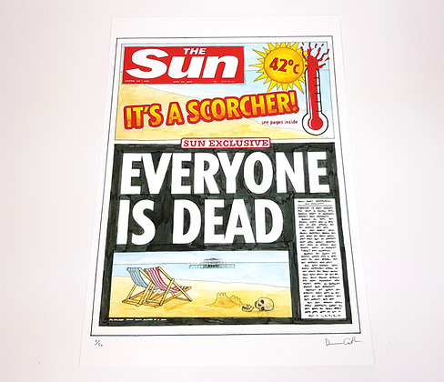 Tomorrow's Papers - Limited edition giclee print