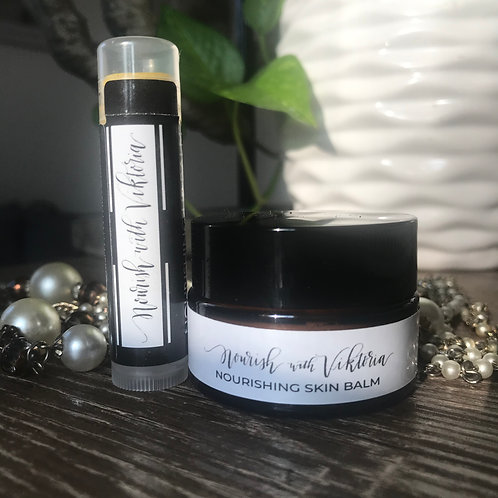 Lip and cuticle balm pack