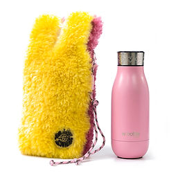 wbottle x SOMEWHERE NOWHERE Collection 350ml / Yellow Pink