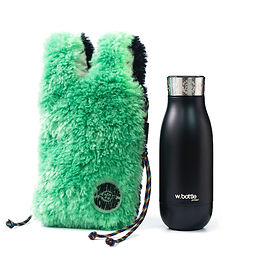 wbottle x SOMEWHERE NOWHERE Collection 350ml / Black Green
