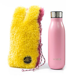 wbottle x SOMEWHERE NOWHERE Collection 500ml / Yellow Pink