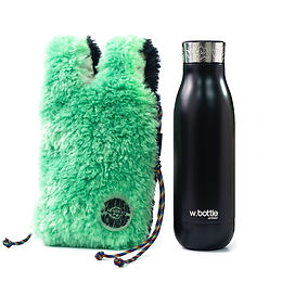 wbottle x SOMEWHERE NOWHERE Collection 500ml / Black Green