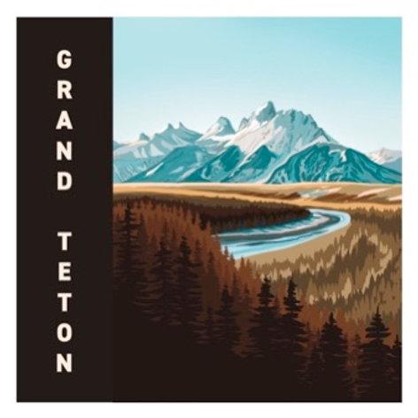 Grand Teton Sticker