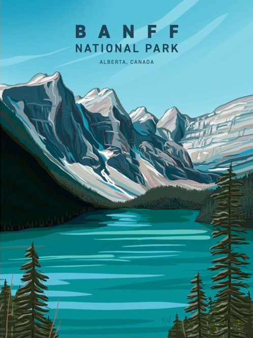 Banff National Park Print/Postcard