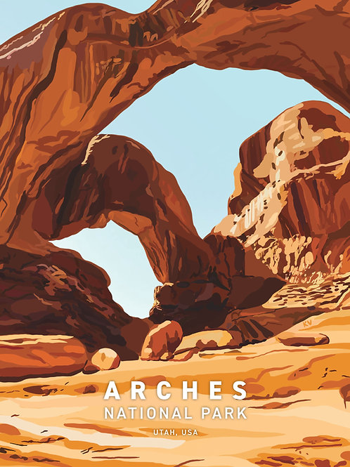 Arches National Park Print/Postcard