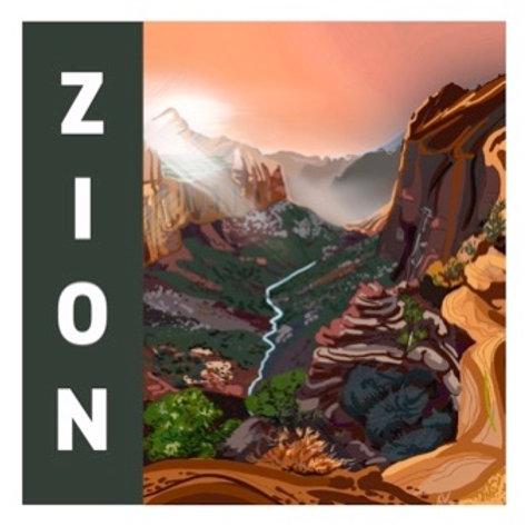 Zion Sticker