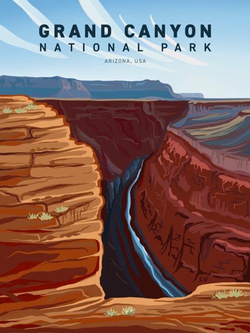 Grand Canyon Print/Postcard