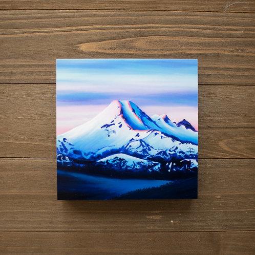 Mount Baker Wood Print