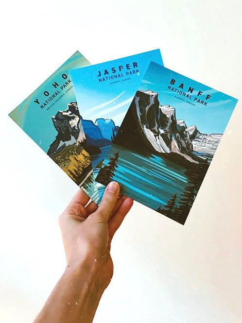 Canadian Rockies Postcard Pack