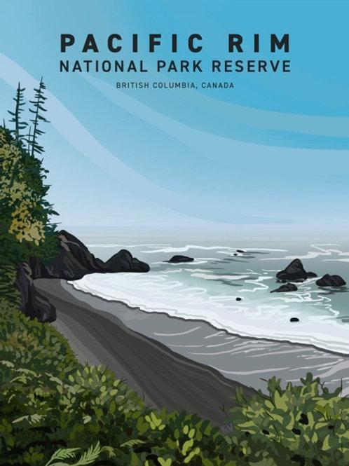 Pacific Rim National Park Print/Postcard