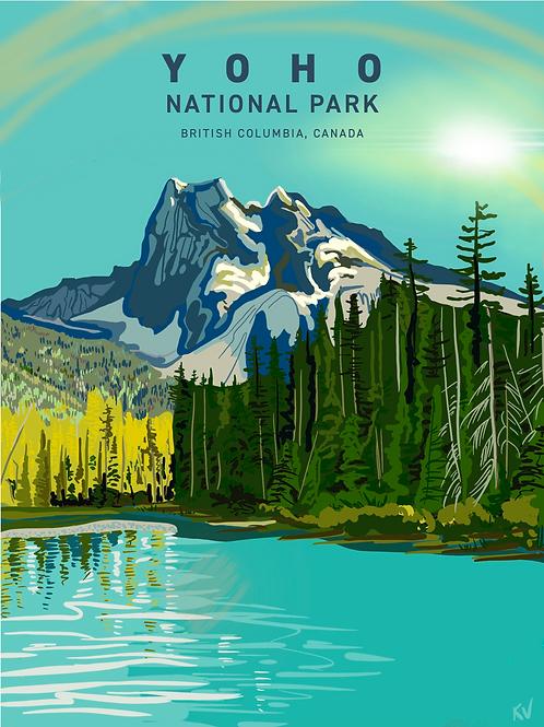 Yoho National Park Print/Postcard