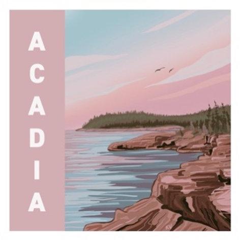 Acadia Sticker