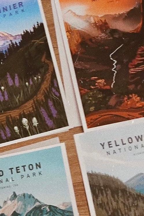 Any 5 National Park Prints