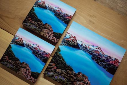 Garibaldi Lake Wood Prints