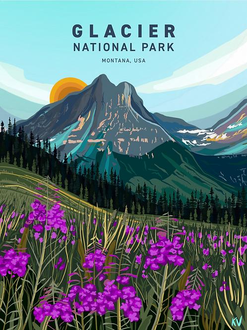 Glacier National Park Print/Postcard