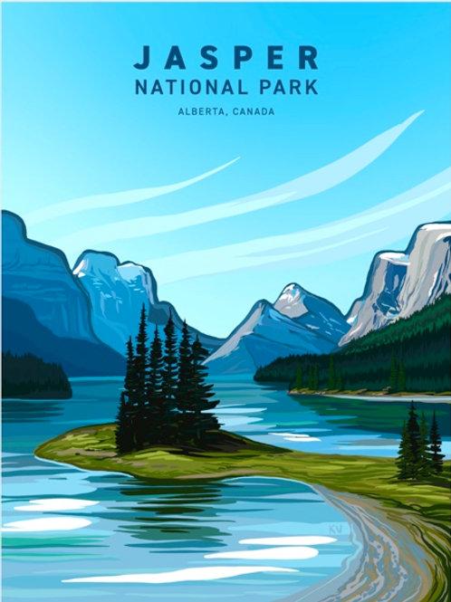 Jasper National Park Print/Postcard