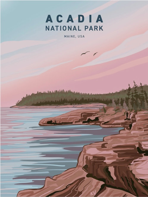 Acadia National Park Print/Postcard
