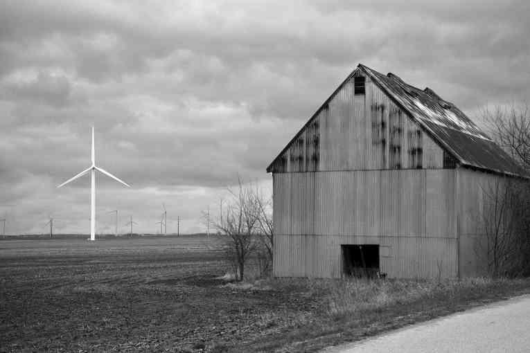 Barn & Turbine