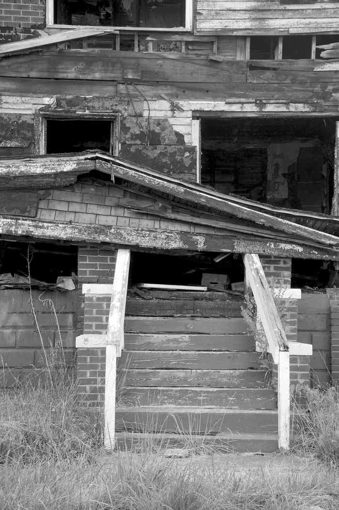 Collapsed Porch