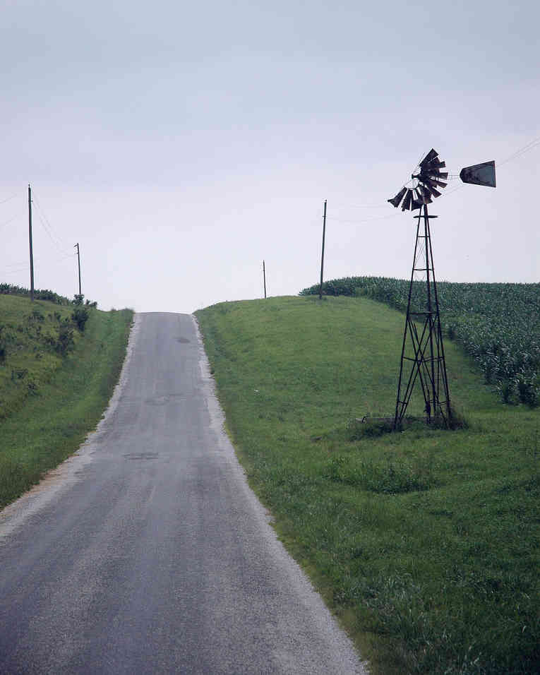 Windmill by the Road