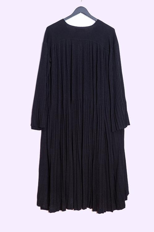 Plissé Dress - Sminfinity - Black - One Size