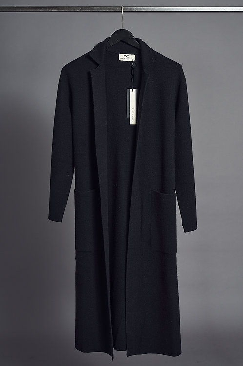 DF - Overcoat in Black- Sminfinity