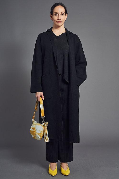 DF - Overcoat in Black- Sminfinity