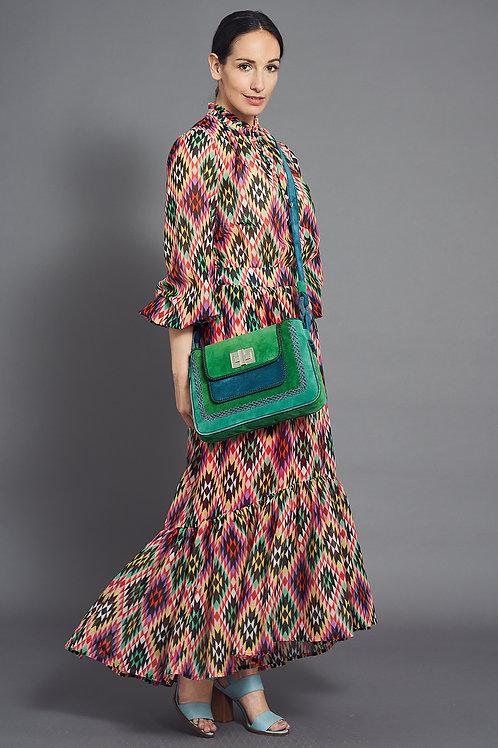 Maxi Dress - Stylish Print - Maison Common