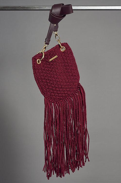 """CINTA"" Bag - Marjana von Berlepsch - Color Bordeaux"