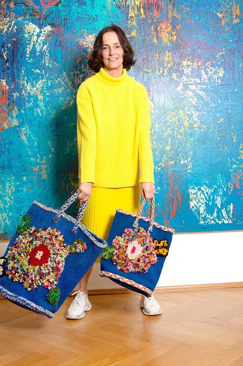 PO!PARIS - The Flower  - Midi Bag designed by Nathalie Lété
