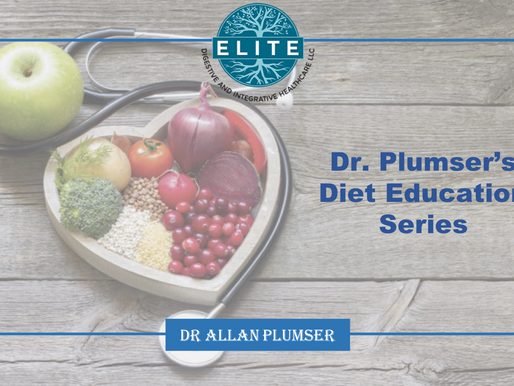 Introduction to Dietary Program Education Series from Dr. Plumser