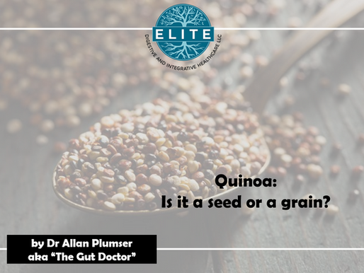 Quinoa is a seed?