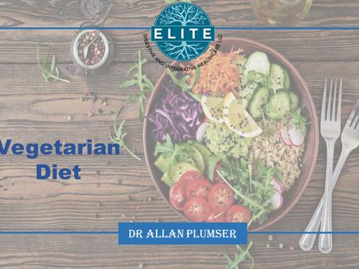 Dr. Plumser's Diet Education Series: Vegetarian Diet