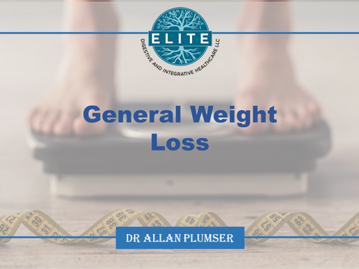 Dr. Plumser's Diet Education Series: General Weight Loss