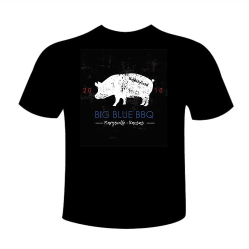 2018 Big Blue BBQ Event Shirt | Youth XS-XL