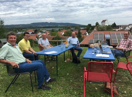 Gartengespräch zum Thema Südumfahrung Markdorf
