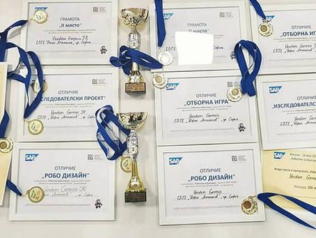 """Vendom Genesis - отново шампиони в състезанието""""Роботика за България"""""""