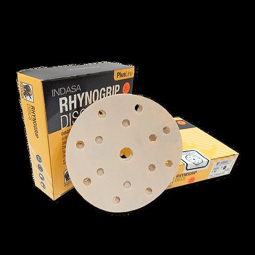 80g, 240g INDASA RHYNOGRIP PLUS LINE sanding discs 150mm 7H