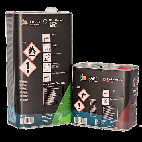 1.5L, or 7.5L, H/S Kapci 6020 2K Clearcoat VOC Compliant + Hardener