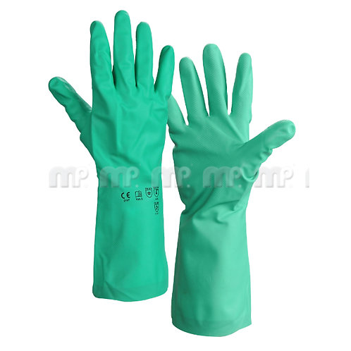 MP Green Nitrile gloves size 10